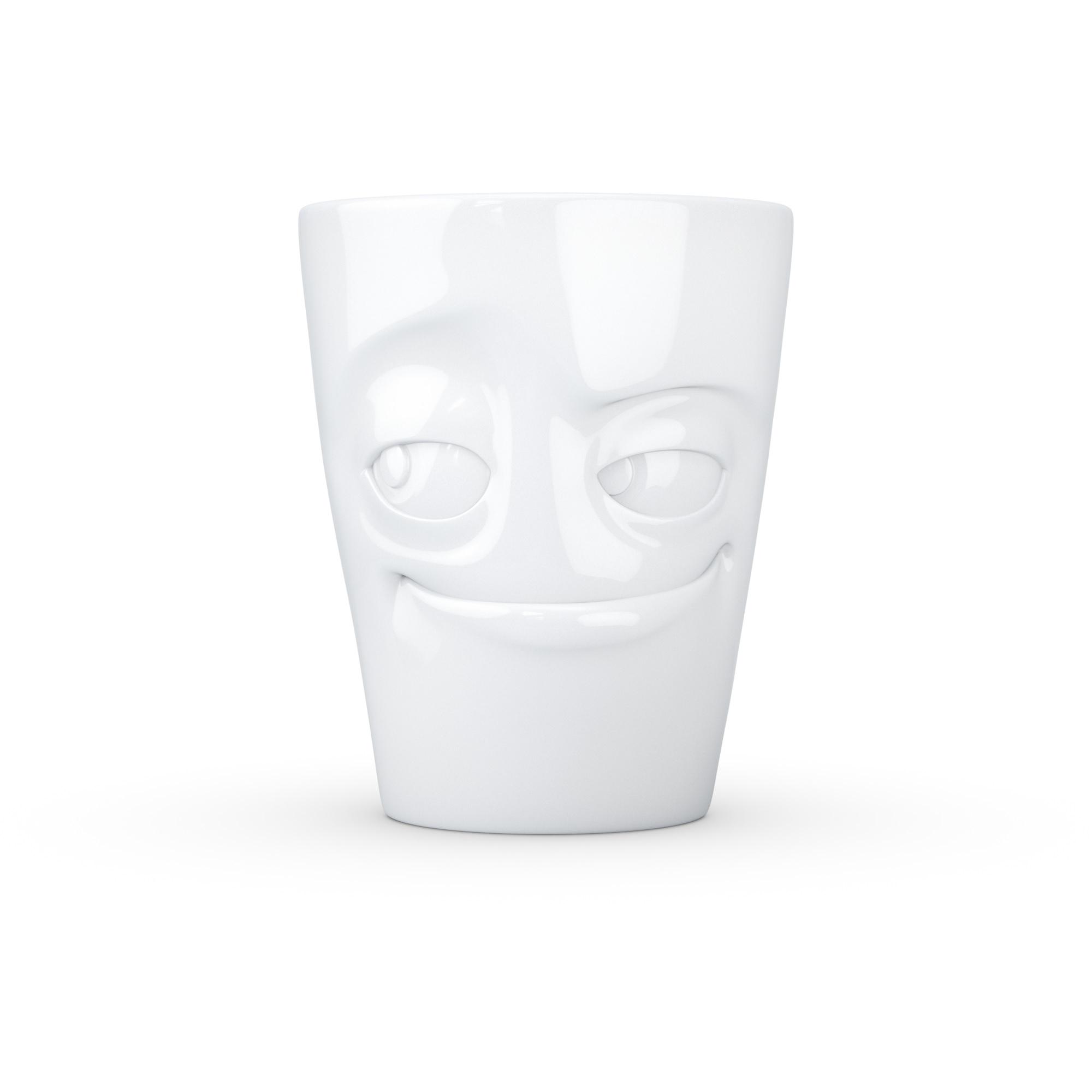 Mug-Verschmitzt-Weiß