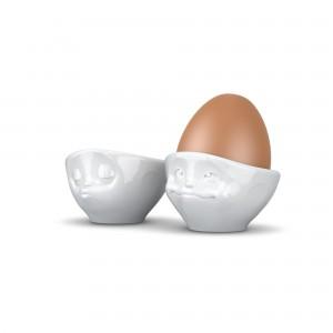 Eierbecher-Set-Weiß