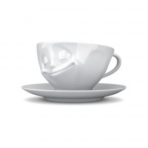 KaffeeTasse-Glücklich-Weiß