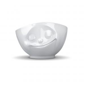 Schale-Glücklich-Weiß